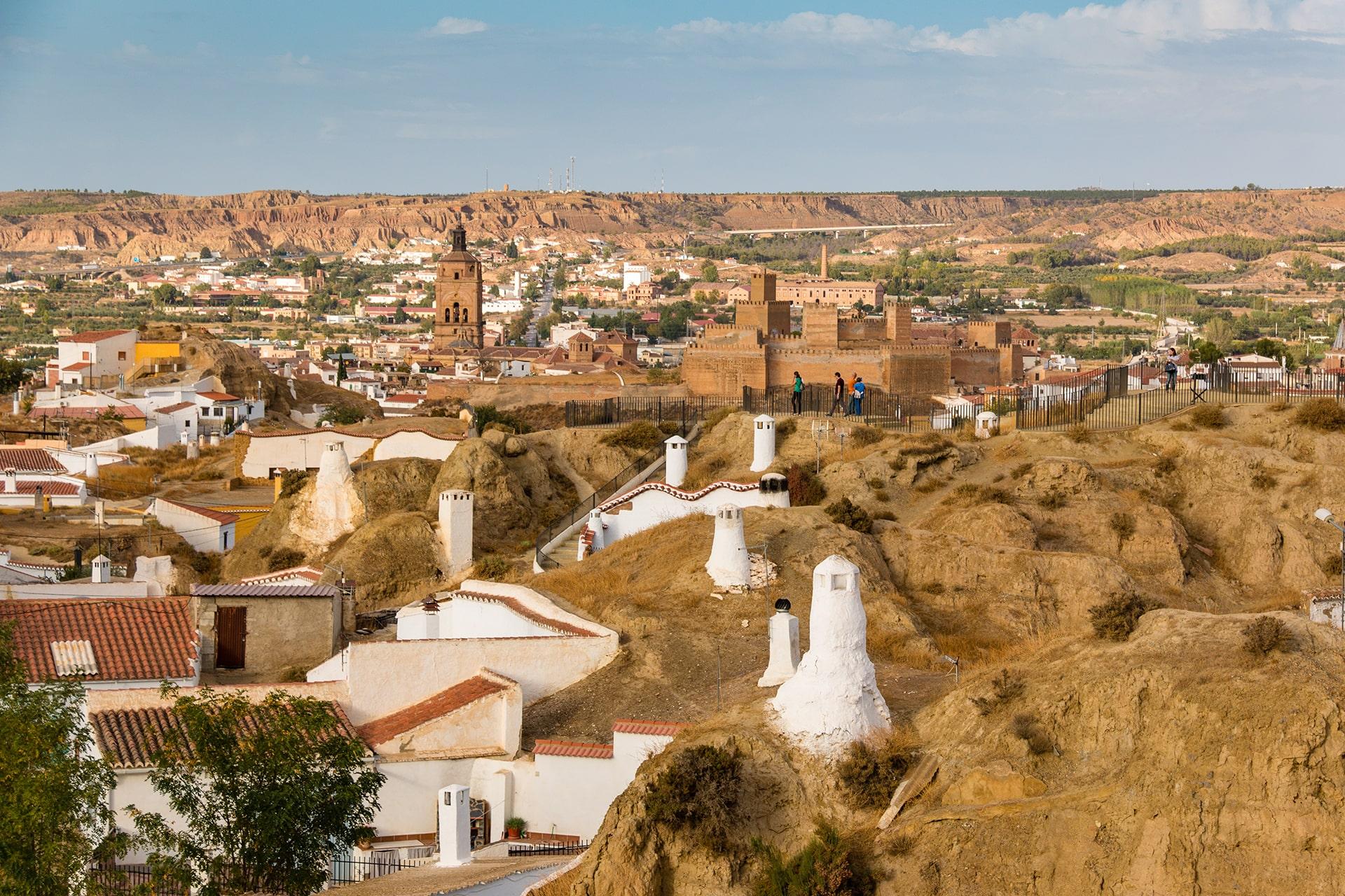 Guadix desde Cuevas-min
