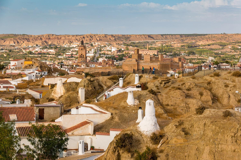 Guadix desde Cuevas